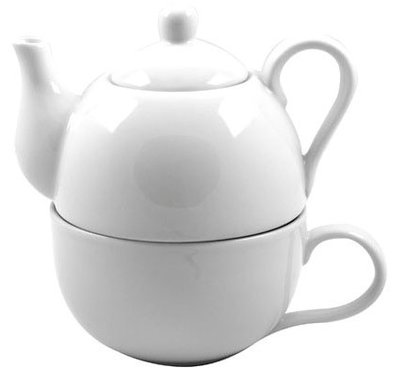Cosy Tea for One White theepot 0.4 liter