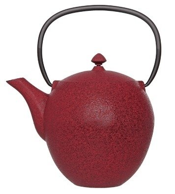 Cosy Pear Red theepot 1 liter