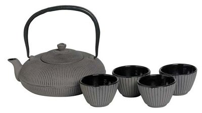 Cosy Japanese Set Grey theepot 1.2 liter