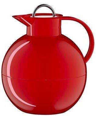 Alfi Kugel metalen thermoskan rood 0.94 liter
