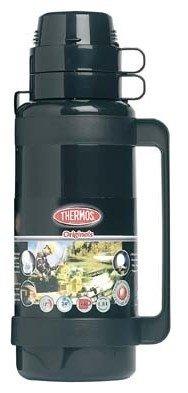 Thermos Mondial zwart thermosfles 1 liter