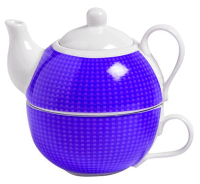 Cosy Tea for One paars theepot 0.48 liter