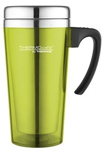 Thermos Soft Touch Lime thermosbeker 0.425 liter
