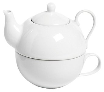 Cosy Tea for One White theepot 0.26 liter
