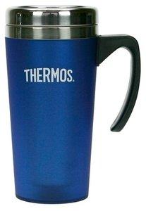 Thermos Mercury blauw thermosbeker 0.425 liter