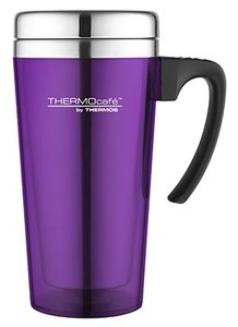Thermos Soft Touch Purple thermosbeker 0.425 liter