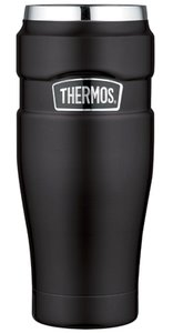 Thermos King zwart thermosbeker 0.47 liter