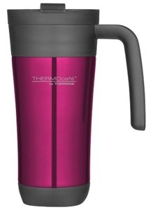 Thermos Inox Flip Pink thermosbeker 0.425 liter