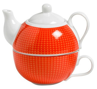 Cosy Tea for One rood theepot 0.48 liter