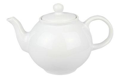 Cosy Classy White theepot 1.75 liter