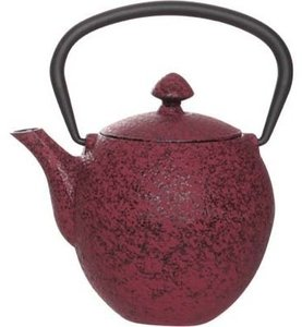 Cosy Pear Red theepot 0.33 liter