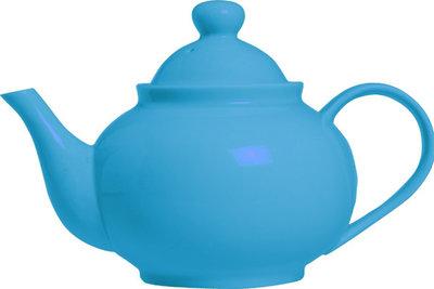 Cosy Flashy Blue theepot 0.8 liter
