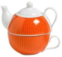Cosy Tea for One oranje theepot 0.48 liter